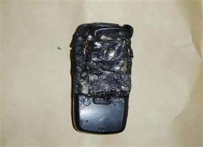 Burnt Cellphone - Evidence