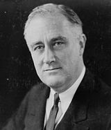 US President - Franklin D. Roosevelt