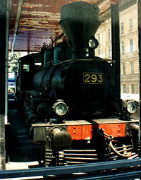 Sealed Train - Locomotive 293