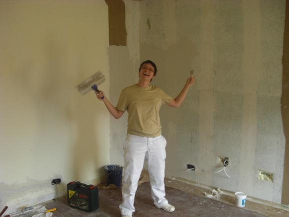 Gut gemocht Wohnungsrenovierung: Rigips montieren und Wand verputzen AE22