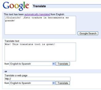English to Spanish Translation with Google Translate   All ... - photo#7