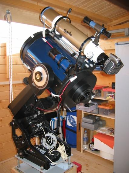 Telescopios y cámara fotográfica