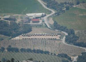 Visión aérea del conjunto de observatorios