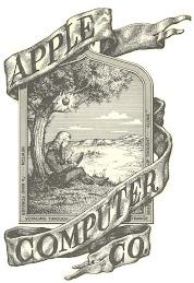 1st Apple Logo