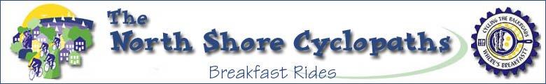 North Shore Cyclopaths Breakfast Rides