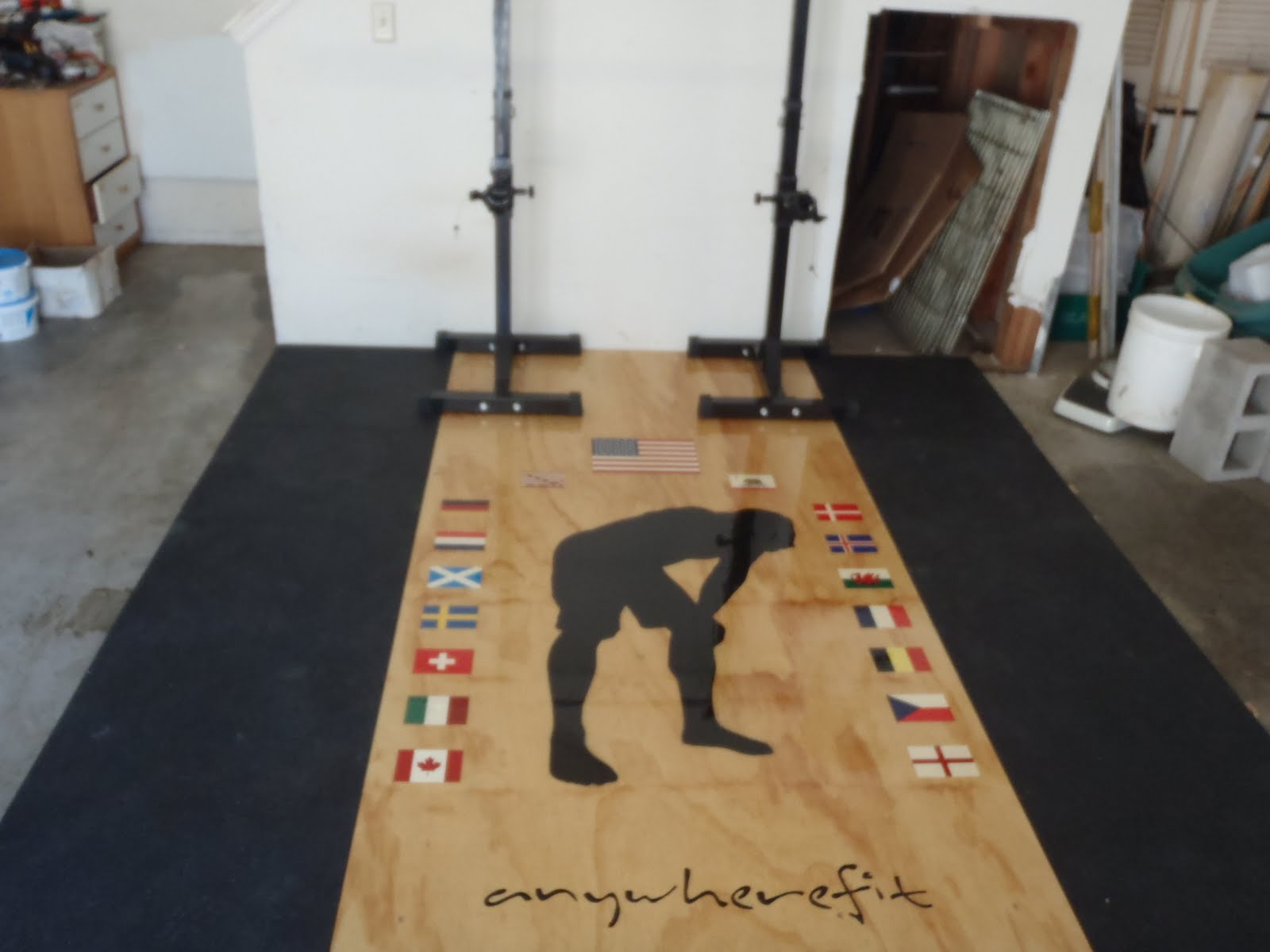 Garage Gym Reviews Diy Platform Anywherefit Garage Gyms