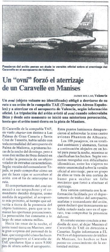 Programa 2: El extraño caso Manises, el Ovni que obligó a aterriacuando los OVNIS visitan España 2