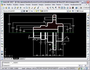 Corso autocad imparare il disegno tecnico for Disegno 3d online