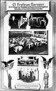At the Golden Jubilee Convention of the American Naturopathic Association, held in New York 1947