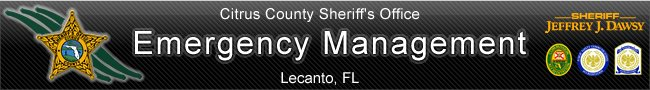 Emergency Operations Center  Citrus County