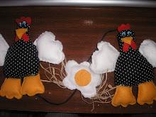 mobile de galinha