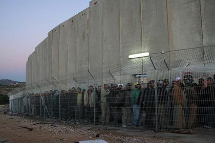 After East Germany, Israel has been the only country that is building a segregation wall. • Second to South Africa, Israel is the only country to establish Apartheid system