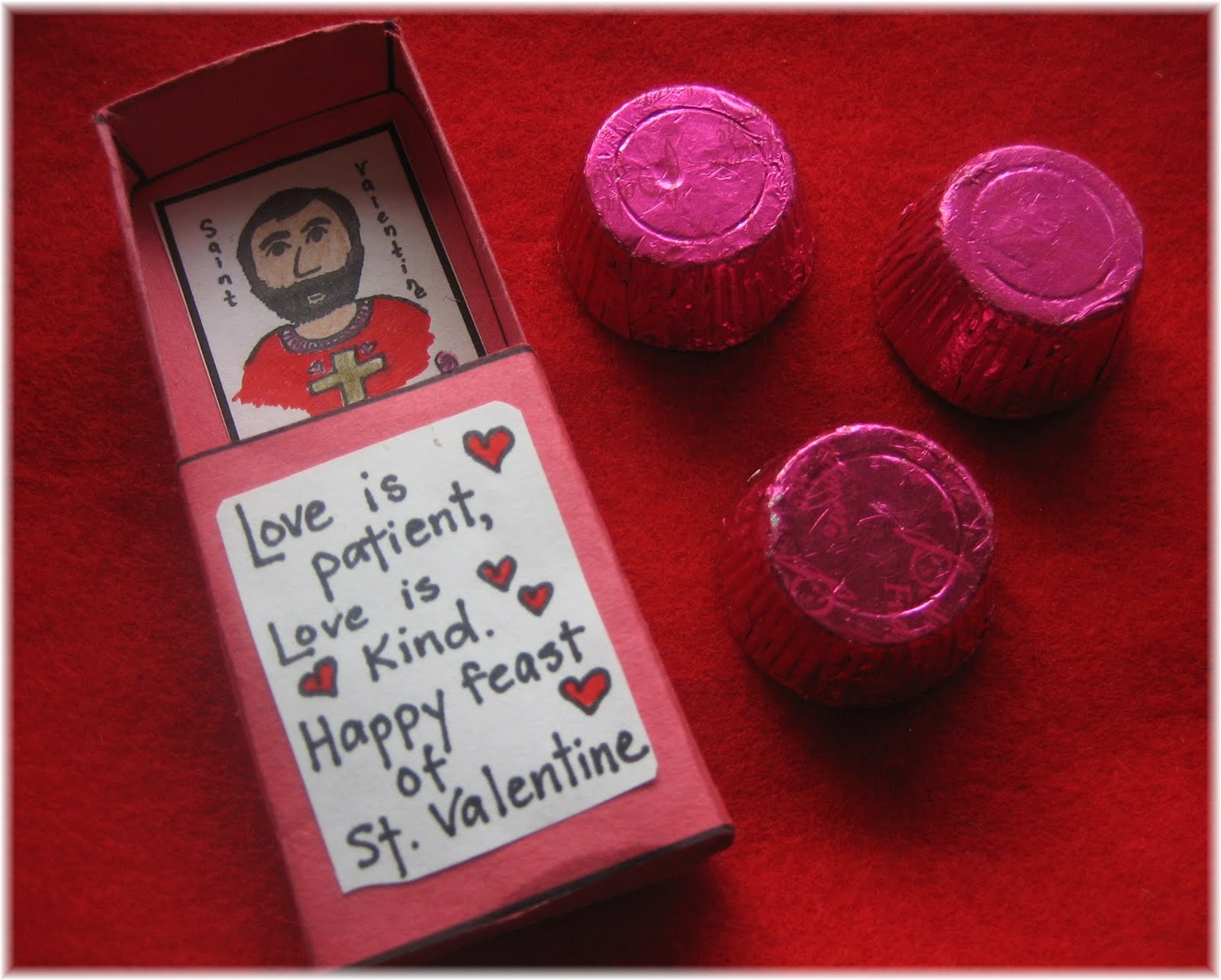 Saint Valentine craft