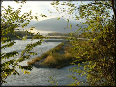 Le Drac au sud du pont lesdiguieres