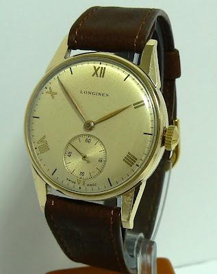 1947 Longines dress watch