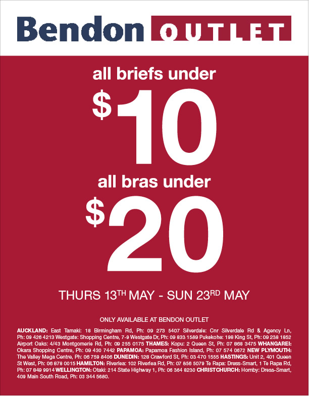 MySale  Bendon Outlet all briefs under  10 and all bras under  20 15afcfaaac