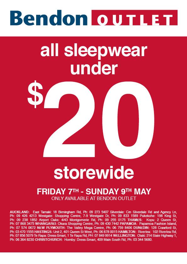 MySale  Bendon Outlet all sleepwear under  20 200a3078fd