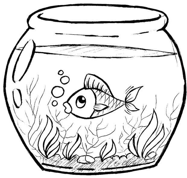 Desenho De Peixe Colorir Animais Desenhos Para Colorir
