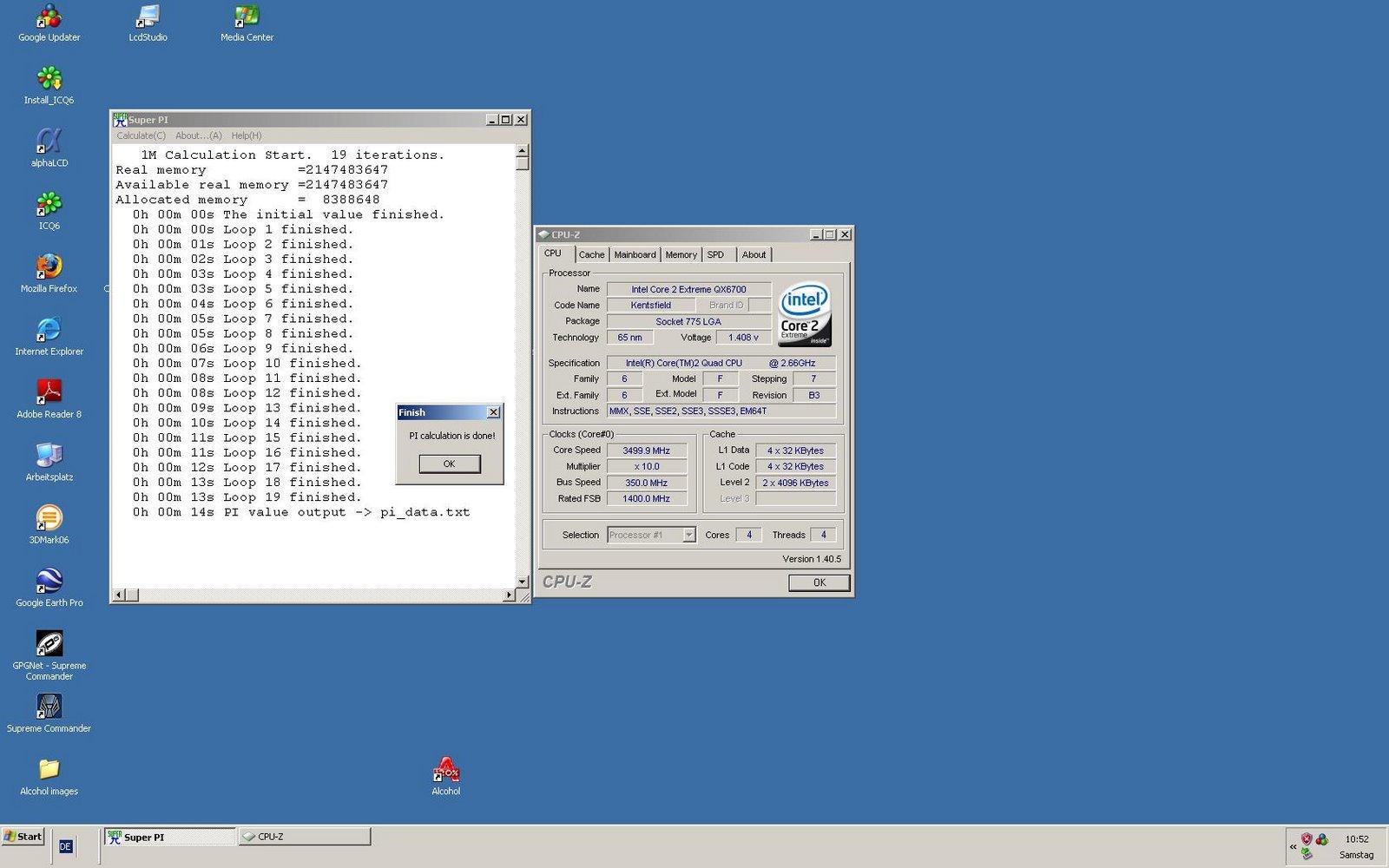 Sub 4 GHz Pi Thread [Archive] - XtremeSystems Forums