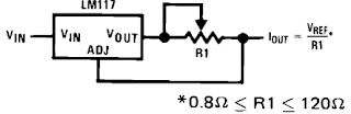 LM317 as a Constant Current Source in audio cirсuitry