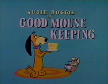 Yowp Augie Doggie Good Mouse Keeping