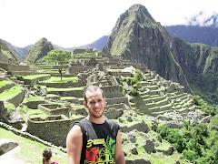 Peke en Machu Pichu