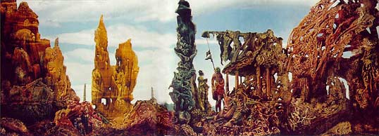 'Europe After the Rain II', Max Ernst, 1940-1942