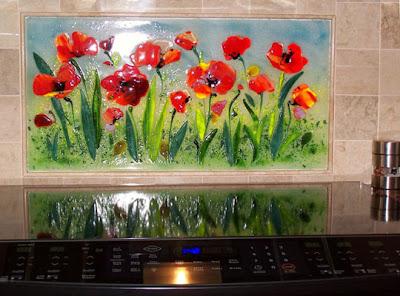 Kitchen Backsplash Mural Design