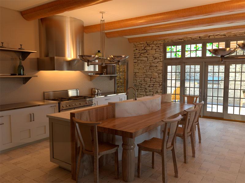 Primitive Kitchen Table Set