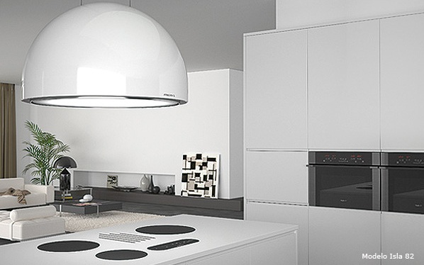 Extractors For Kitchen Elica Concetto Spaziale  Black Prf