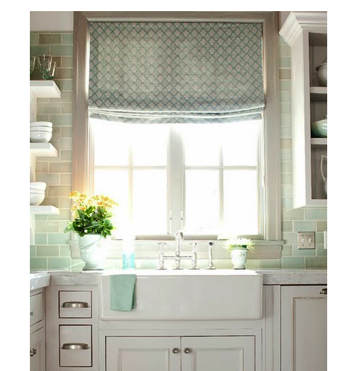 Kitchen Windows: My Latest Like: Bathroom/kitchen Window Curtains