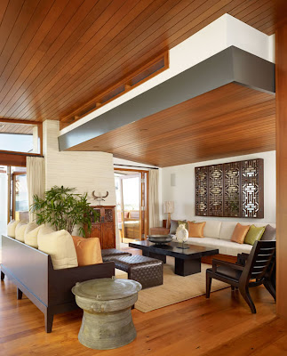 Interior Design of Malibu House