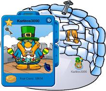 Este es mi pinguino estoy todos los dias en Estados Unidos en el Server: Klondike.