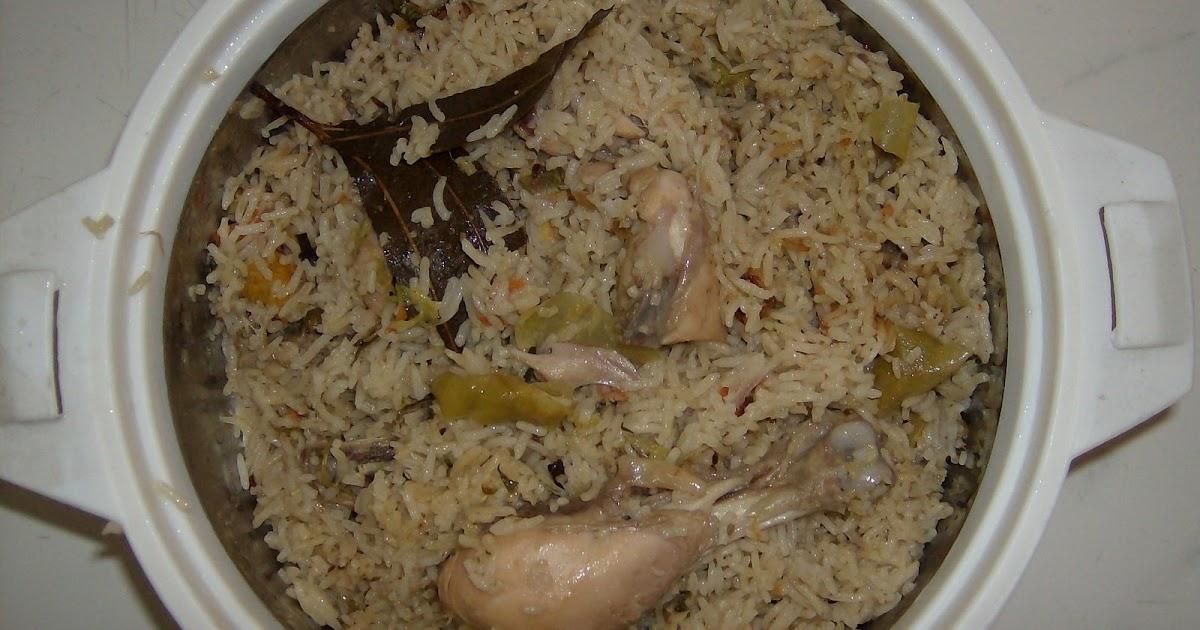 Preethi's Andhra Kitchen: Chicken Pulav