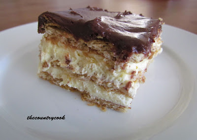 The Country Cook Eclair Cake