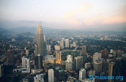 Kuala Lumpur from above
