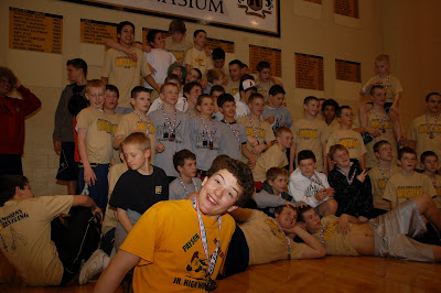 Payson Jr  High School Wrestling: Dang Johnny, It looks like