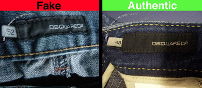 ad0cabdc70c Fake Hunter: DSQUARED - Denim: Logo Labels