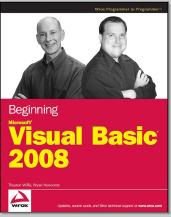 Beginning Microsoft Visual Basic 2008 Ebook