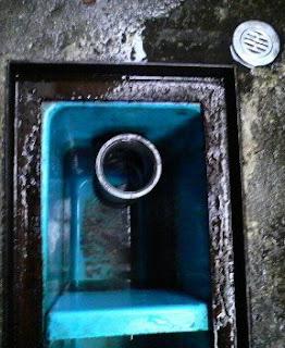 清掃完了:沈殿槽の3槽目