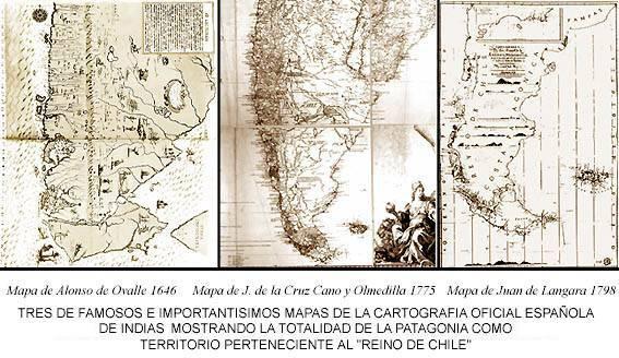 Mapa Chile Colonial