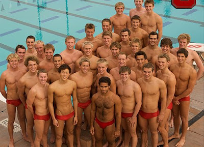 naked swimmers