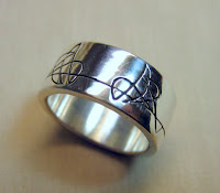 Custom jewelry by Payne's Custom Jewelry. Gents sterling silver custom band.