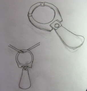 sketch of custom pendants