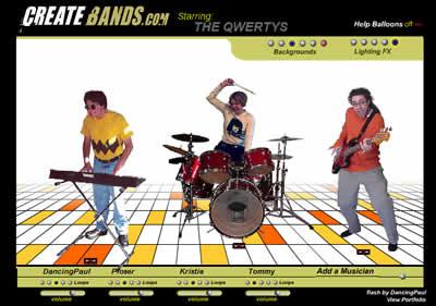 Crie sua banda de música