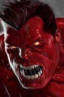 Hulk rosso, visto da Marko Djurdjevic