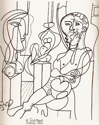 Karine's Art: Picasso: dessins/ Picasso drawings