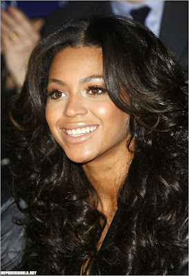 Beyonce with Black Hair