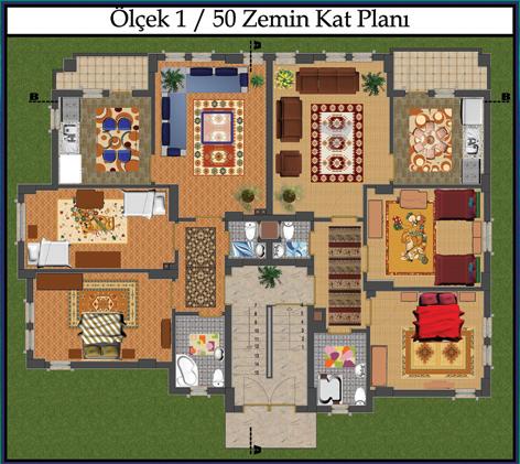 Bina Zemin Kat Planı