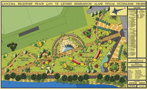 -Çaycuma Belediyesi Filyos Çayı ve Çevresi Rekreasyon Alanı Peyzaj Düzenleme Projesi